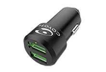 Chargeur allume-cigare universel 2 USB
